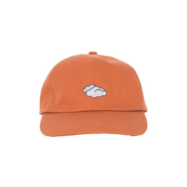 HIDE AND SEEKCloudy Embroidered Symbol Baseball Cap   MIXXMIX (£26) ❤ liked on Polyvore featuring accessories, hats, fillers, adjustable baseball hats, ball caps, baseball caps hats, crown hat and round hat