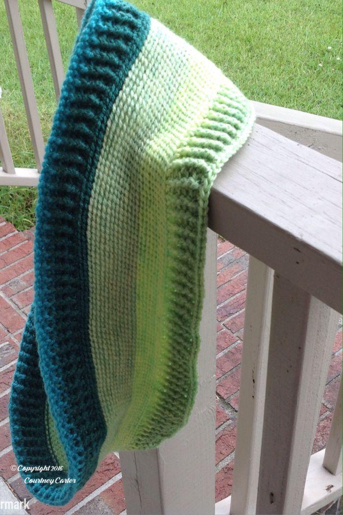 Free crochet pattern: Lemon Lime Infinity Scarf by Crocheting Crazy ...