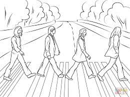 The Beatles Abbey Road Coloring Pages Saker Att Rita Rita