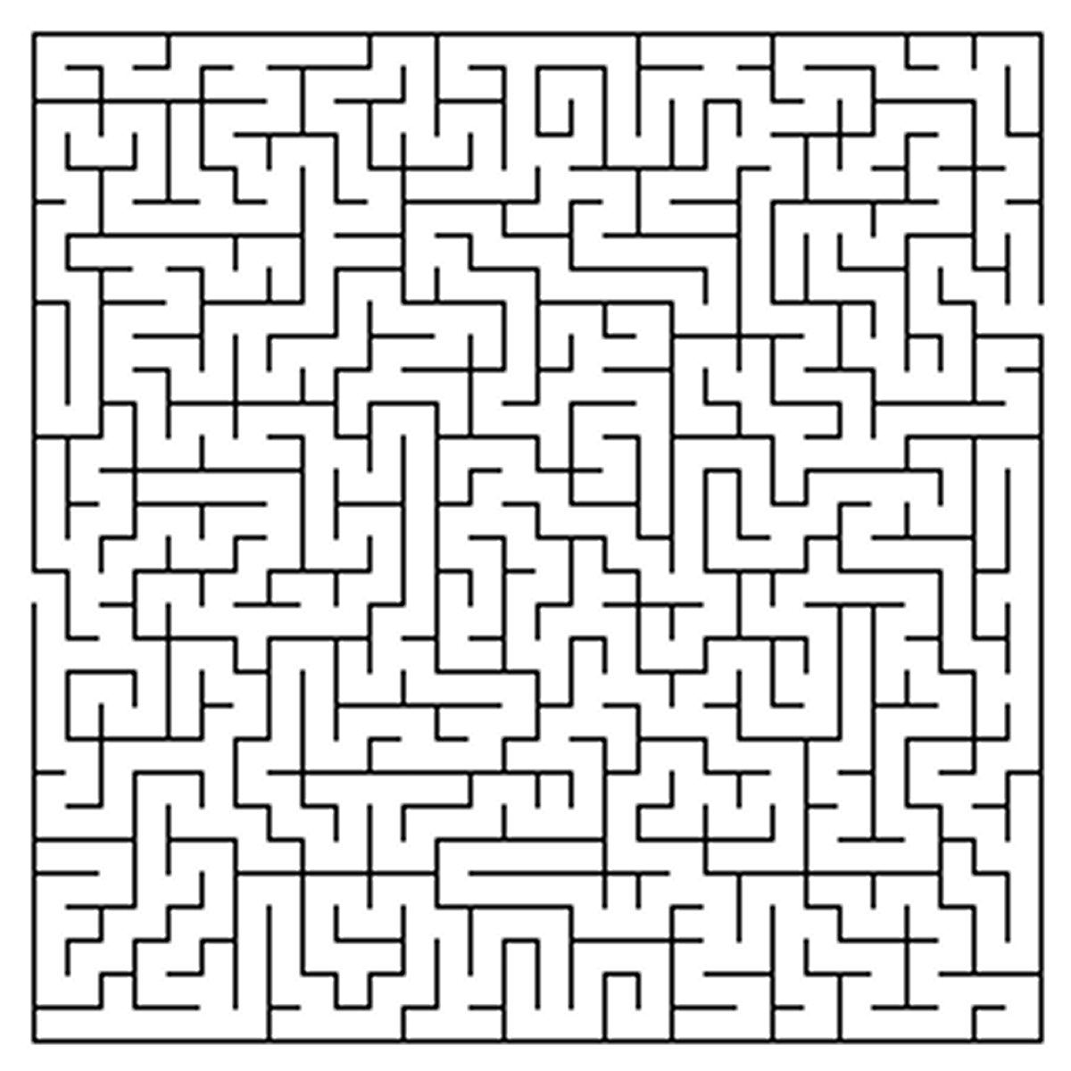 Difficult Maze Coloring Pages Challenges for Adults Pinterest