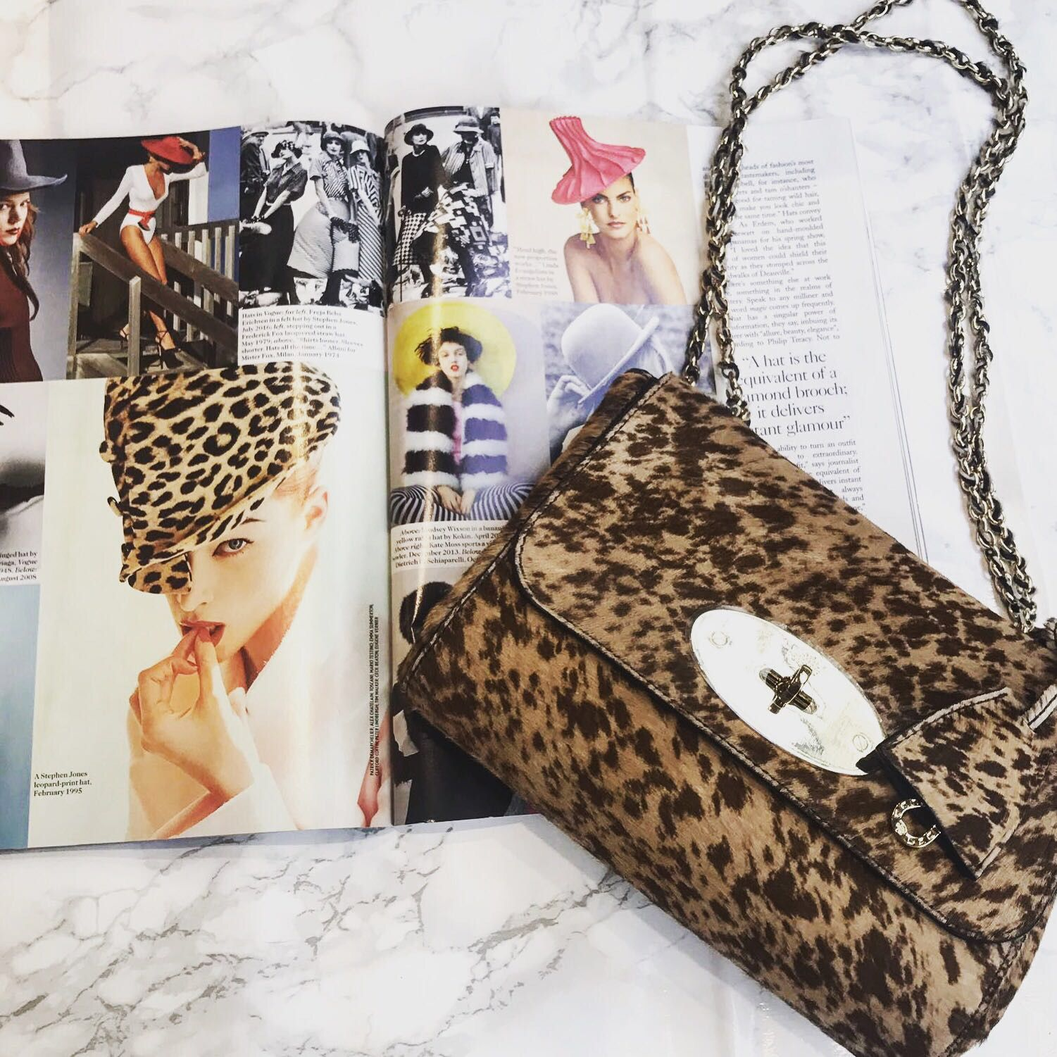 db26d7b4b87b This leopard print Mulberry Lily bag would be the perfect statement piece  for your weekend glam. Crafted in pony hair and in amazing condition.
