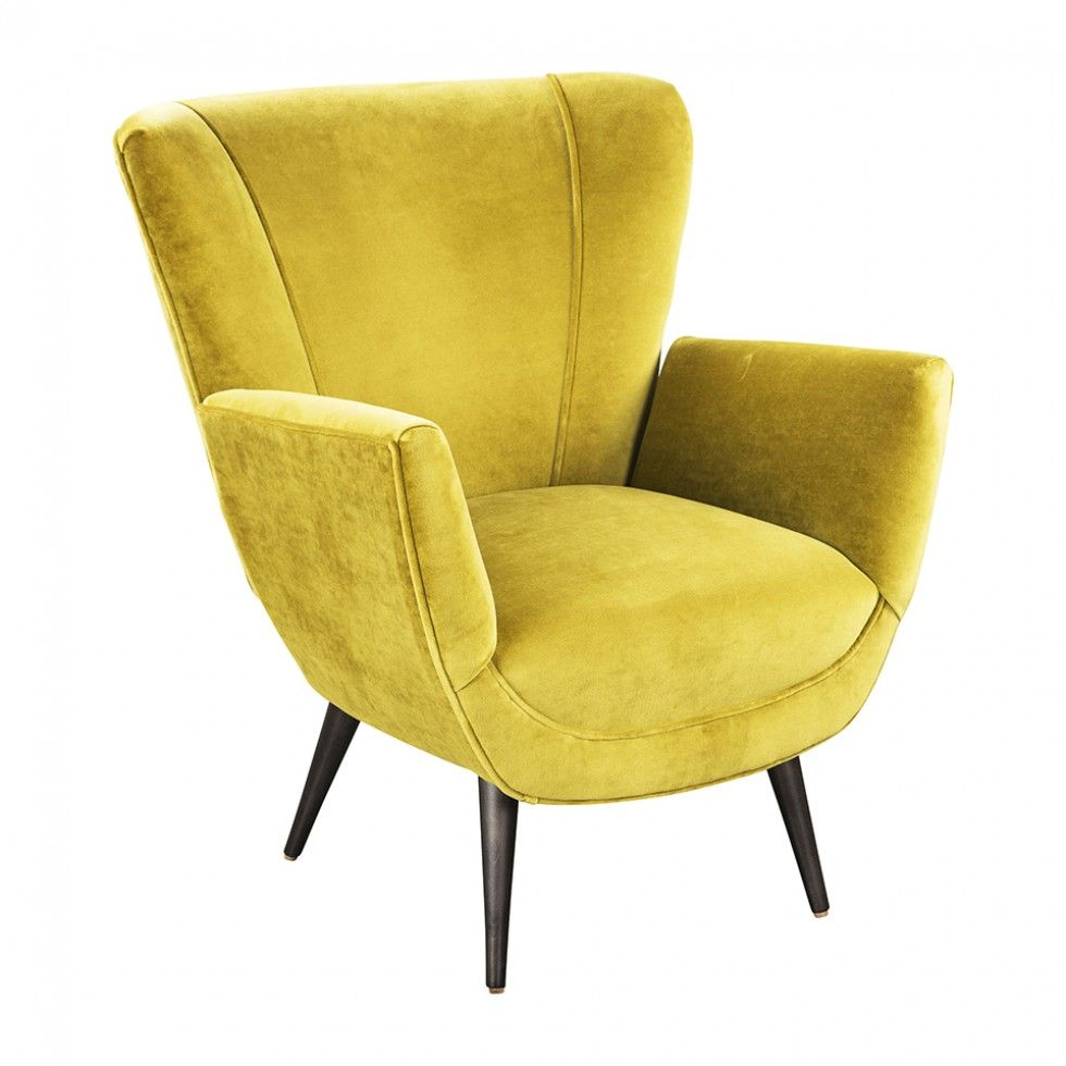 BAILEY CHAIR VANCE MUSTARD   Accent Chairs   Seating   Living   HD  Buttercup Online U2013