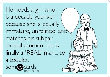 Why guys date younger girls