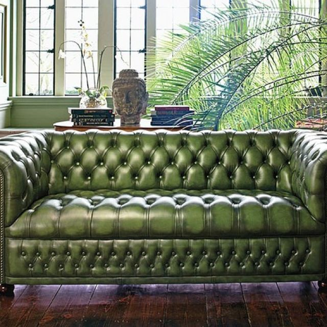 Green Sofa Green Leather Chesterfield Sofa Green Leather Sofa Green Chesterfield Sofa