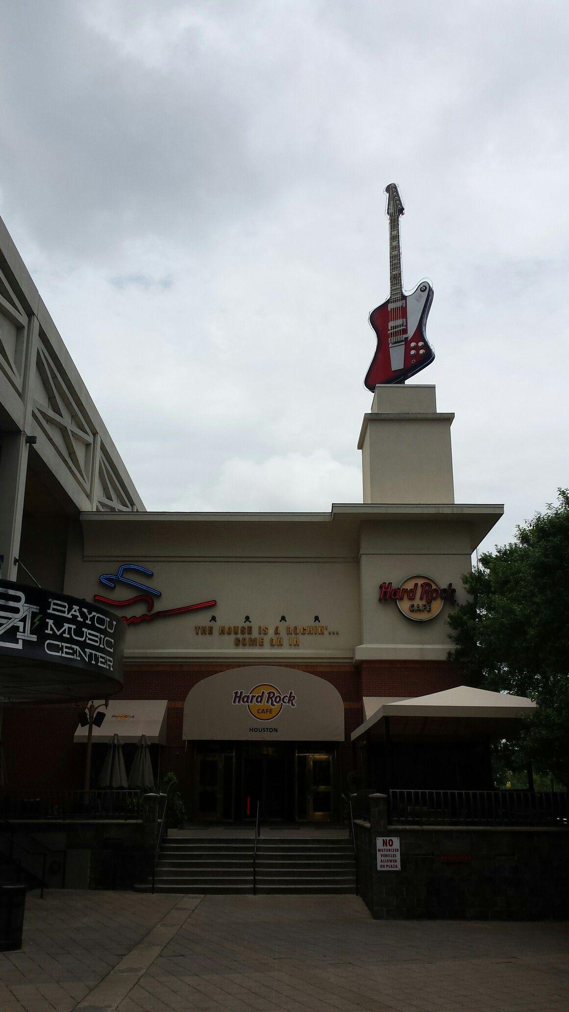 Hard Rock Houston Hard rock cafe, Hard rock, Rock
