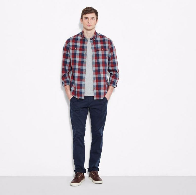 chemise homme timberland