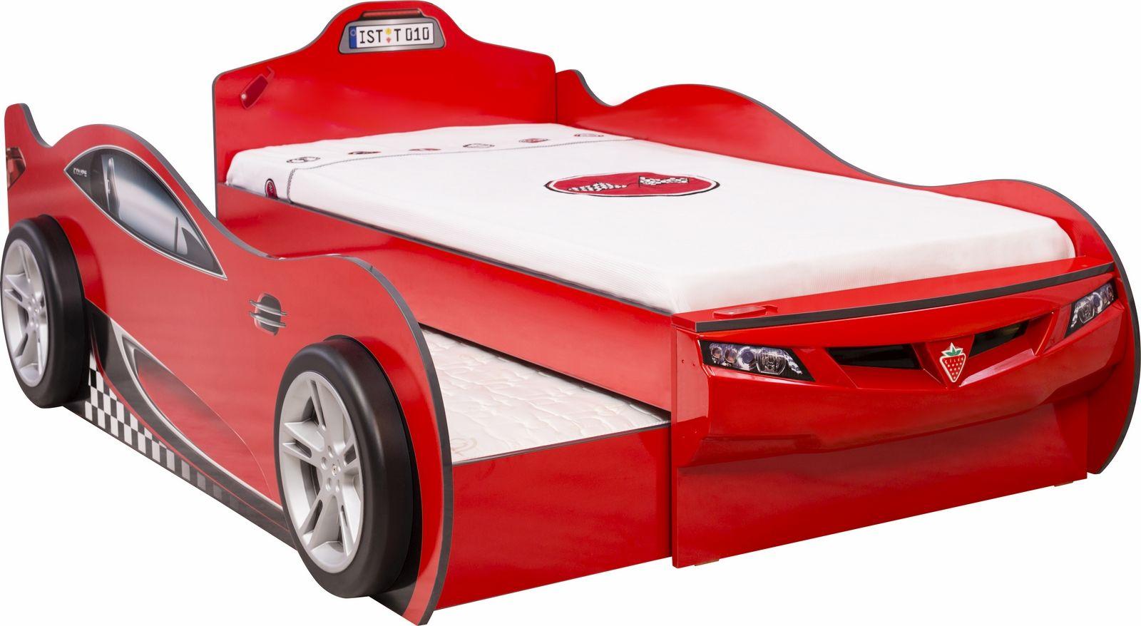 Autobett Racer double, rot | im möbel-spot kids Shop | Autobetten ...
