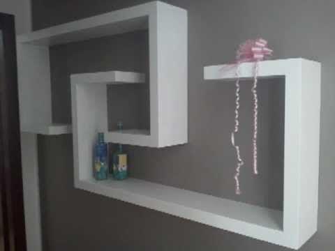 Tutorial come realizzare una libreria in cartongesso | mobili in ...