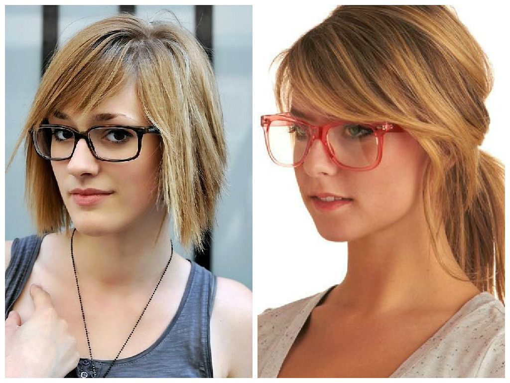 Bangs And Glasses Can Be Adorable Quirky Or Edgy But It Could Also Look Like Your Entire Face Hairstyles With Glasses Bangs And Glasses Hairstyles With Bangs