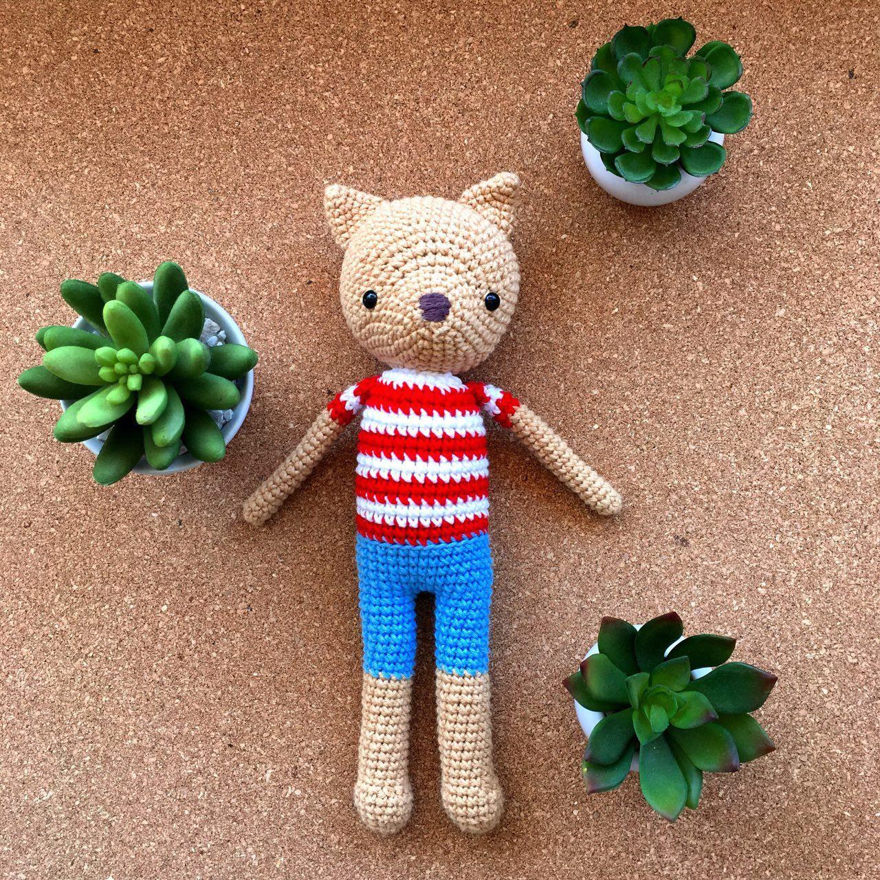 Perro Panchito - hechos por Florencia Rodríguez para Kitsune Shop