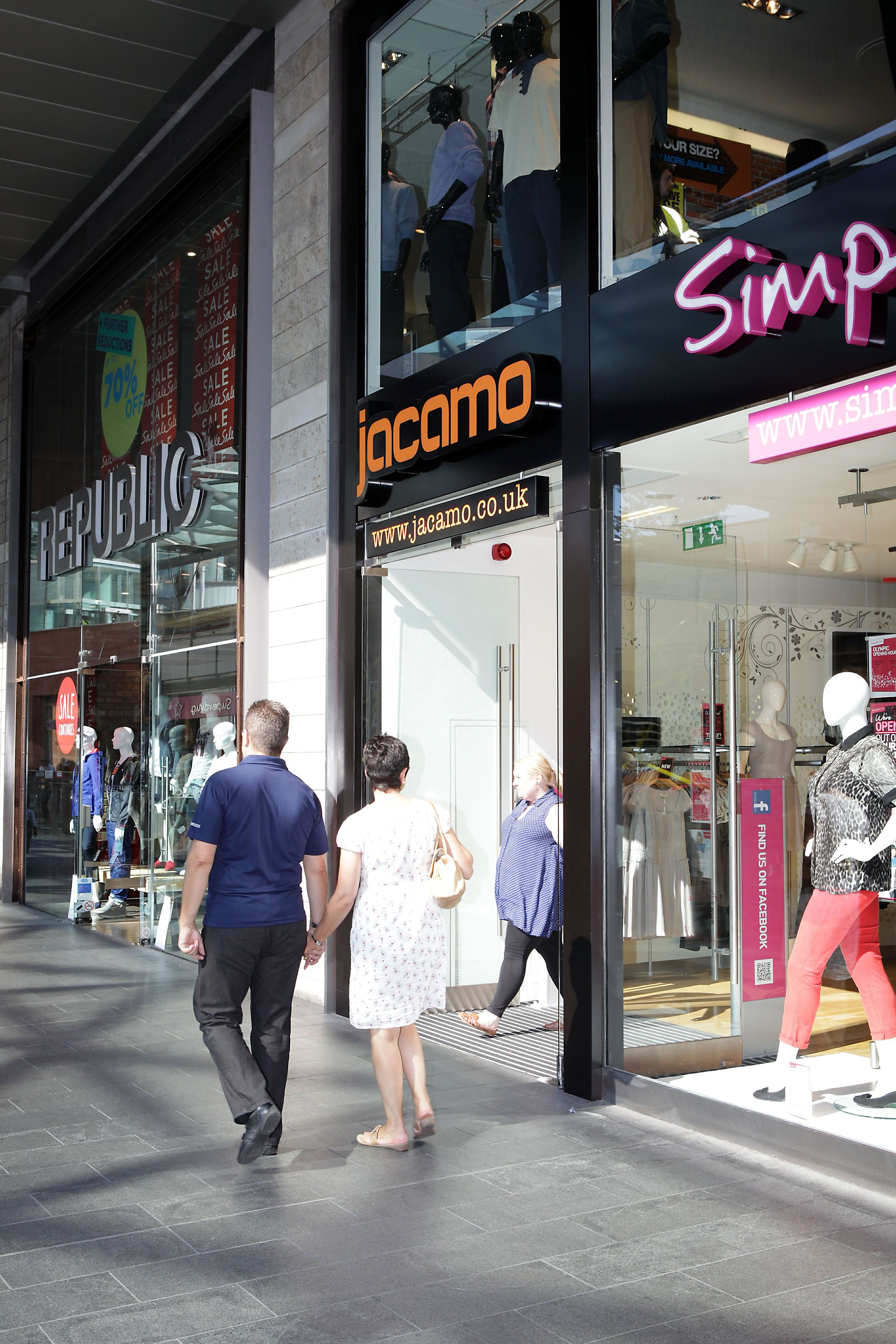 9b5eaa6eb7 The new Jacamo store at Liverpool ONE.