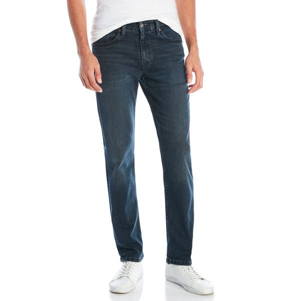 Levi's 511 Slim Fit Jeans (€24) ❤ liked on Polyvore featuring men's fashion