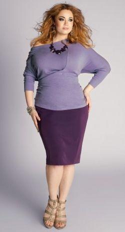 10531162cd5 Looks de la femme ronde en 2013   en mode j assume mes rondeurs