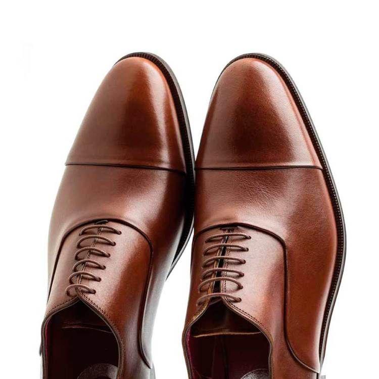Oxford marrón de piel para hombre Miller | Moda masculina