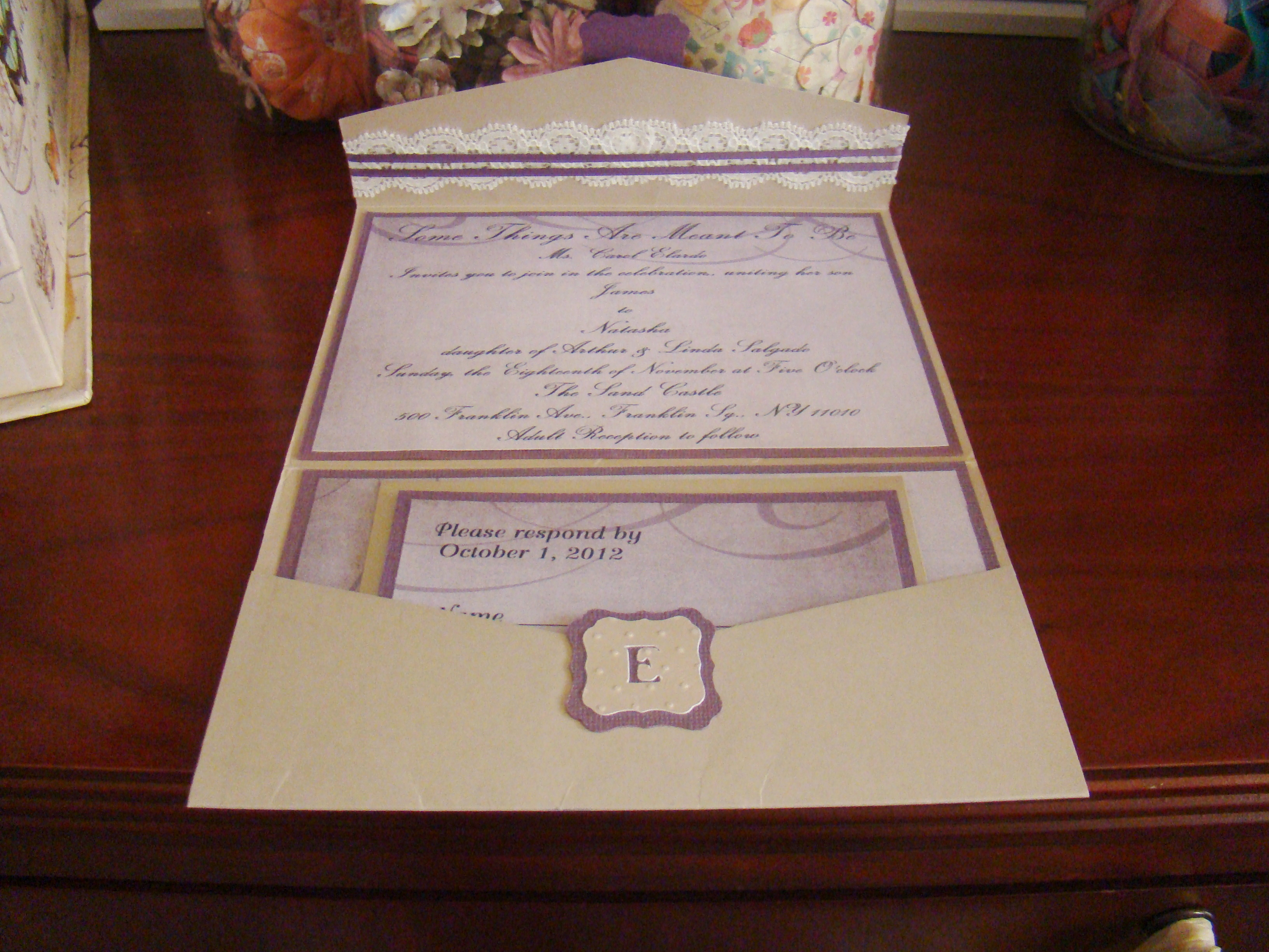 Project center wedding invitation graduation pinterest monicamarmolfo Gallery