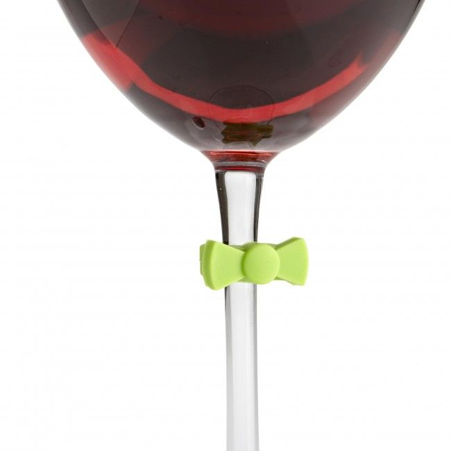 Joie Suction Wine Charms - Bowtie