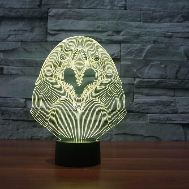 LampGoamiroo Products Eagle Shape 3d Led LampLedDesign b76gfYyv