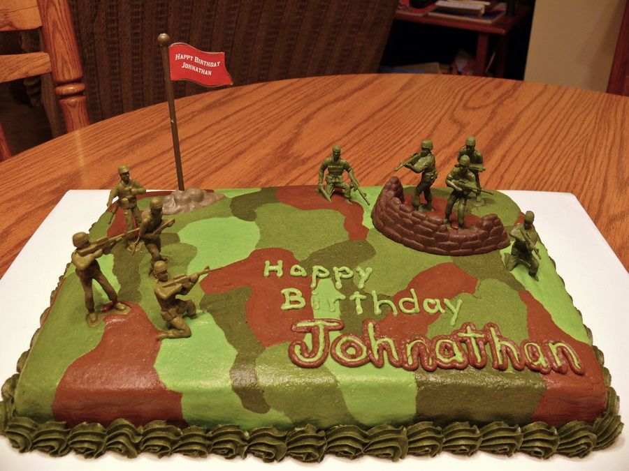 Camouflage Birthday Cake Cake inspiration Pinterest Birthday
