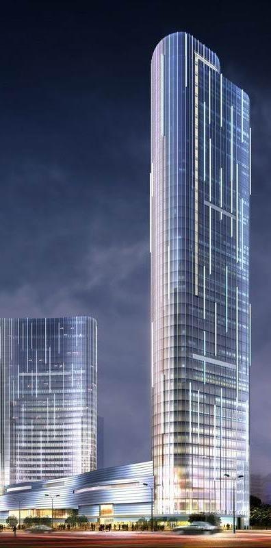 Lovely Suzhou Phoenix International Book City Towers, Suzhou, China By Gensler :: 42  Floors