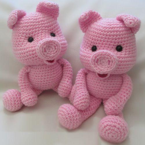 Crochet Along Pig - Free Pattern (Crochet For Children) | Patrones ...