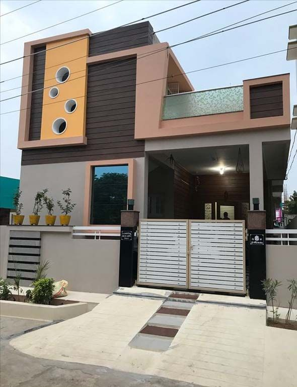 Latest Front Elevation Of Home Designs Small House