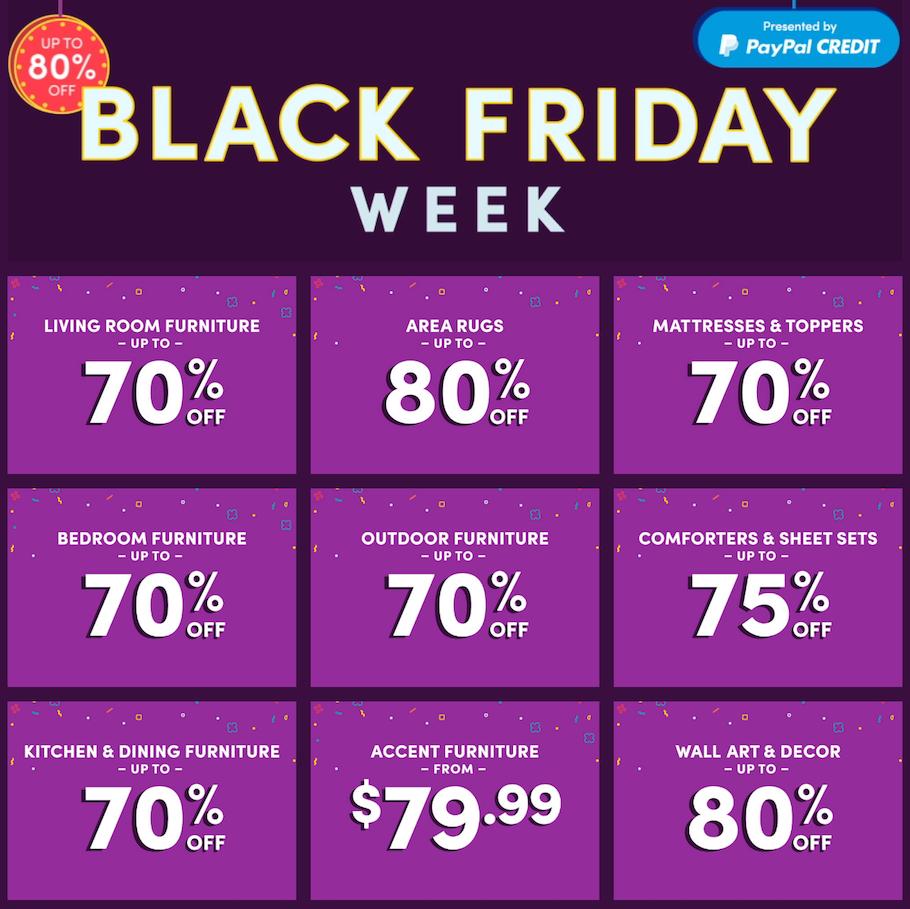Wayfair 2020 Black Friday Deals Black Friday Black Friday Ads Black Friday Deals
