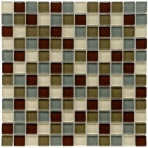 Merola Tile, Tessera Square Canopy 12 in. x 12 in. Glass Mosaic Tile, GMRATCN at The Home Depot - Mobile