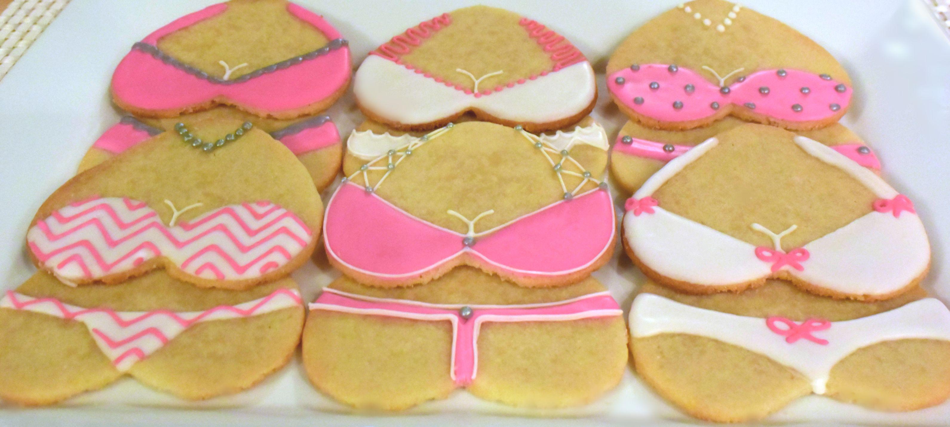 Lingerie Sugar Cookies Sweet17Cookies.Etsy.com | Lingerie Cookies ...
