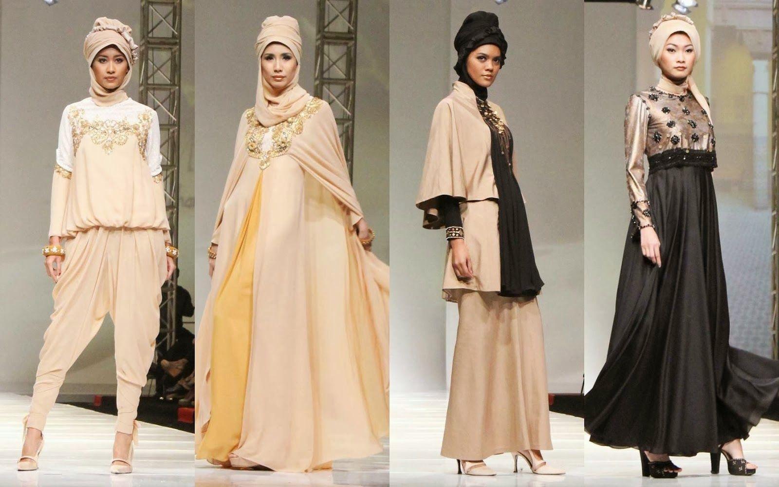 Trend Fashion Muslim Terkini  Model pakaian, Gaya hijab, Busana