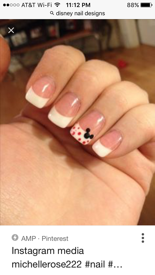 but with a pumpkin instead of mickey | Nails | Pinterest | Disney ...
