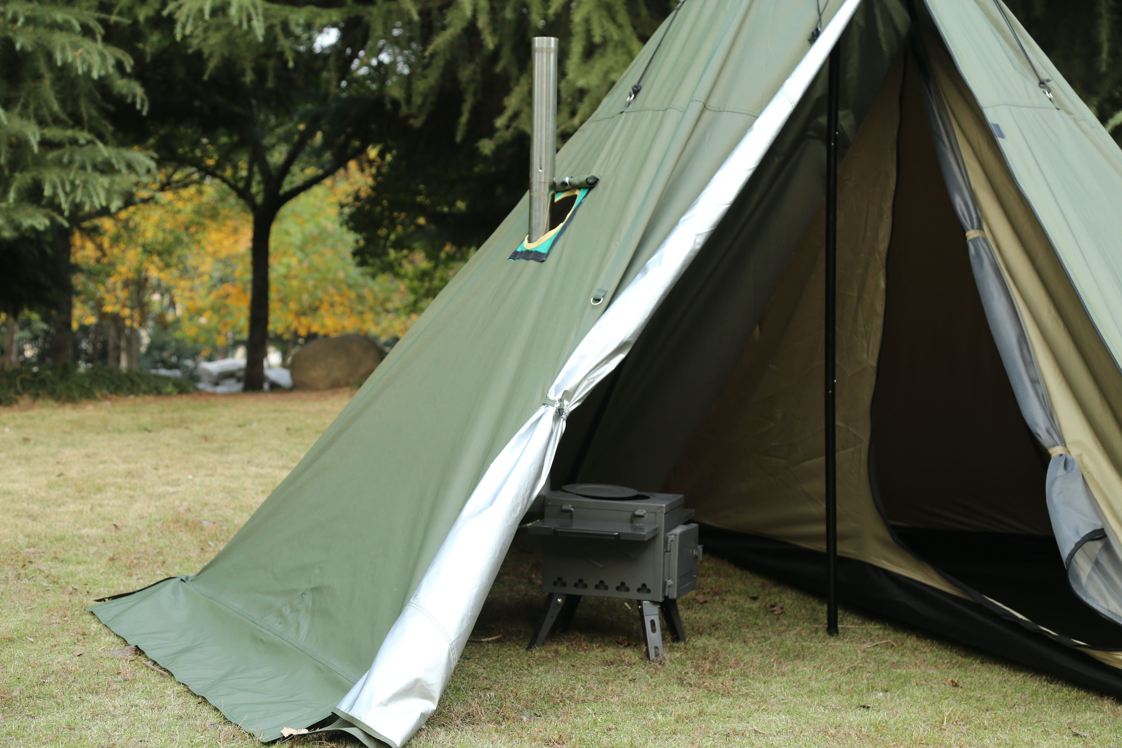 Pin on Best Hot Tent Camping With Stove Photos 2020