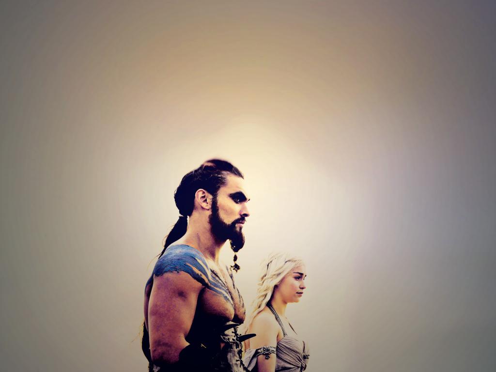 Daenerys Targaryen Khal Drogo