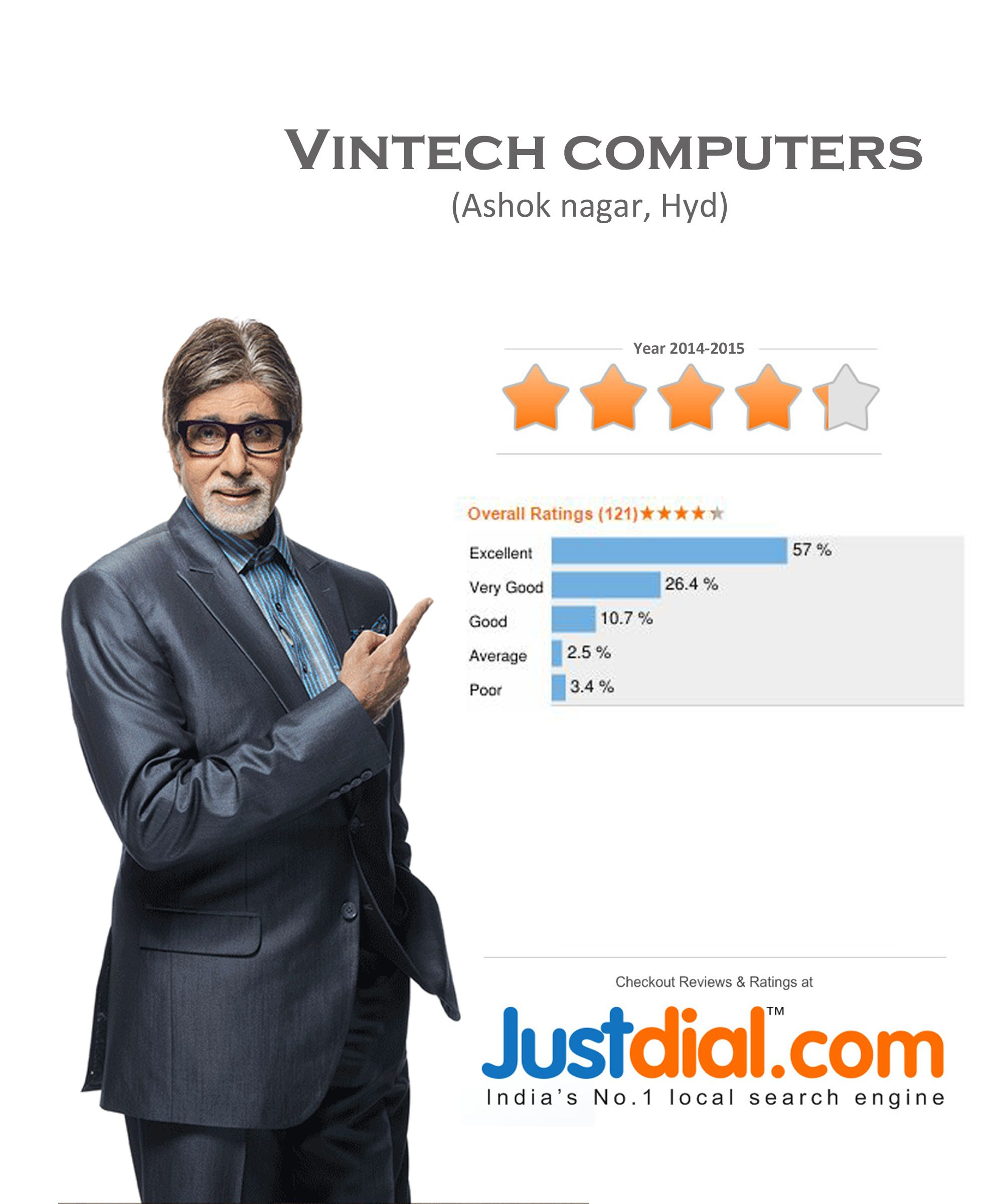 Justdial Certificate Search engine, Engineering, Excellence