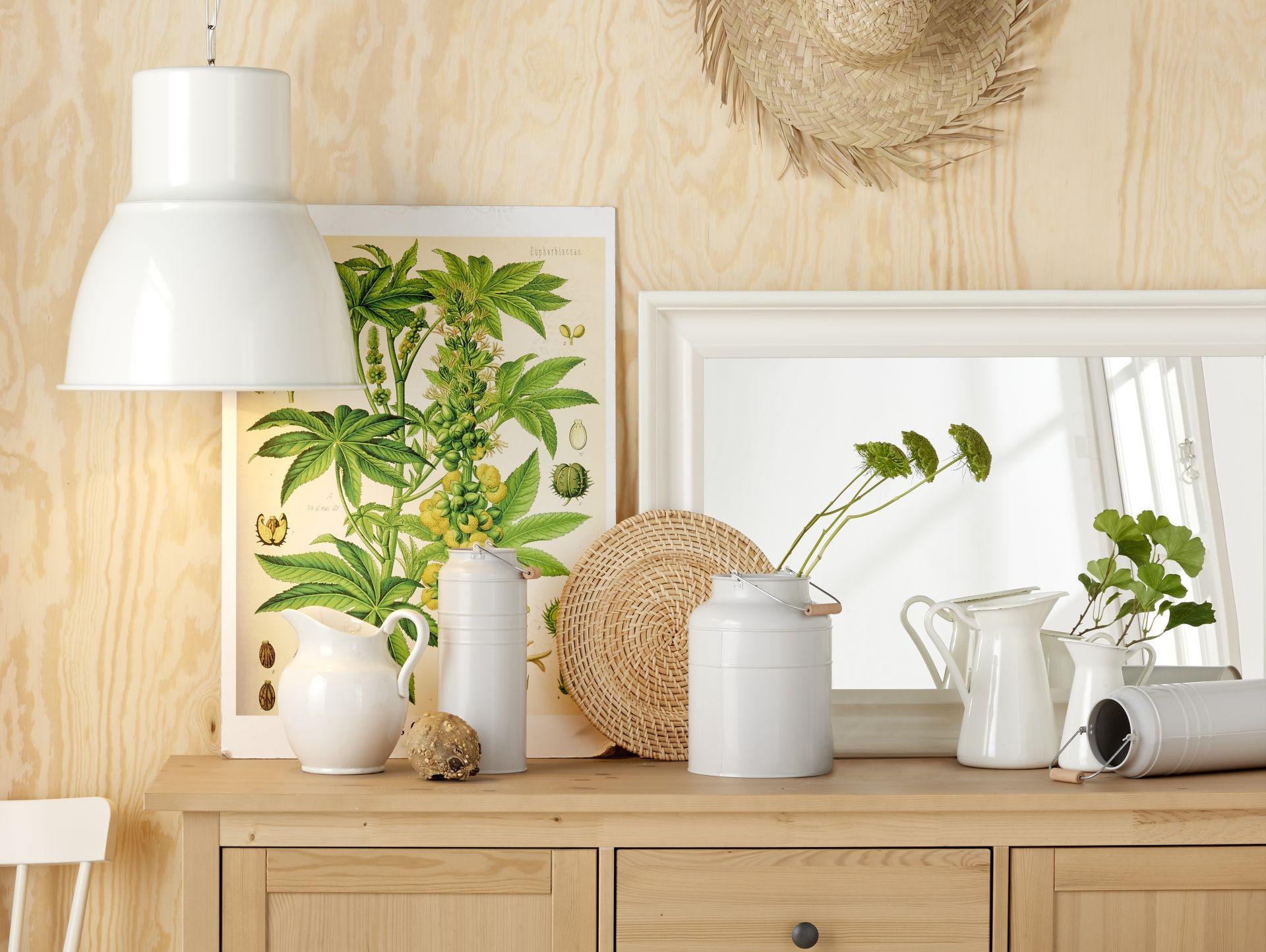 hektar hanglamp wit rustiek eetkamer en hanglamp