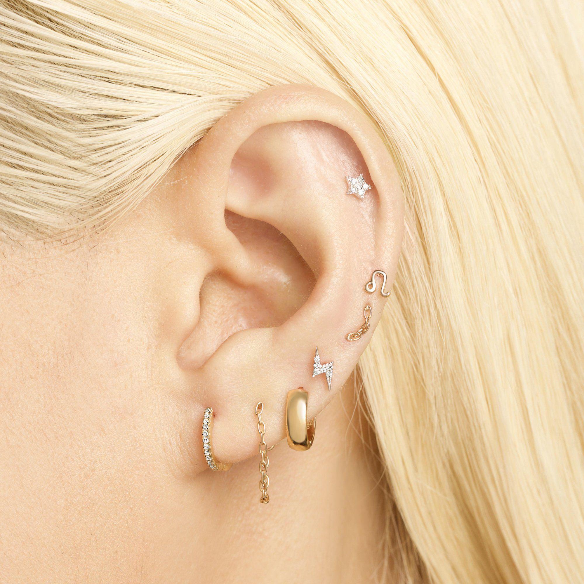 Opal Chain-back Earrings