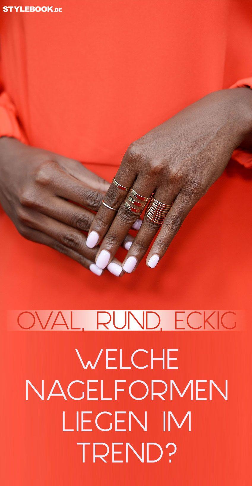 Welche Nagelform passt zu deiner Hand? | Nagelform, Gepflegt und Trends