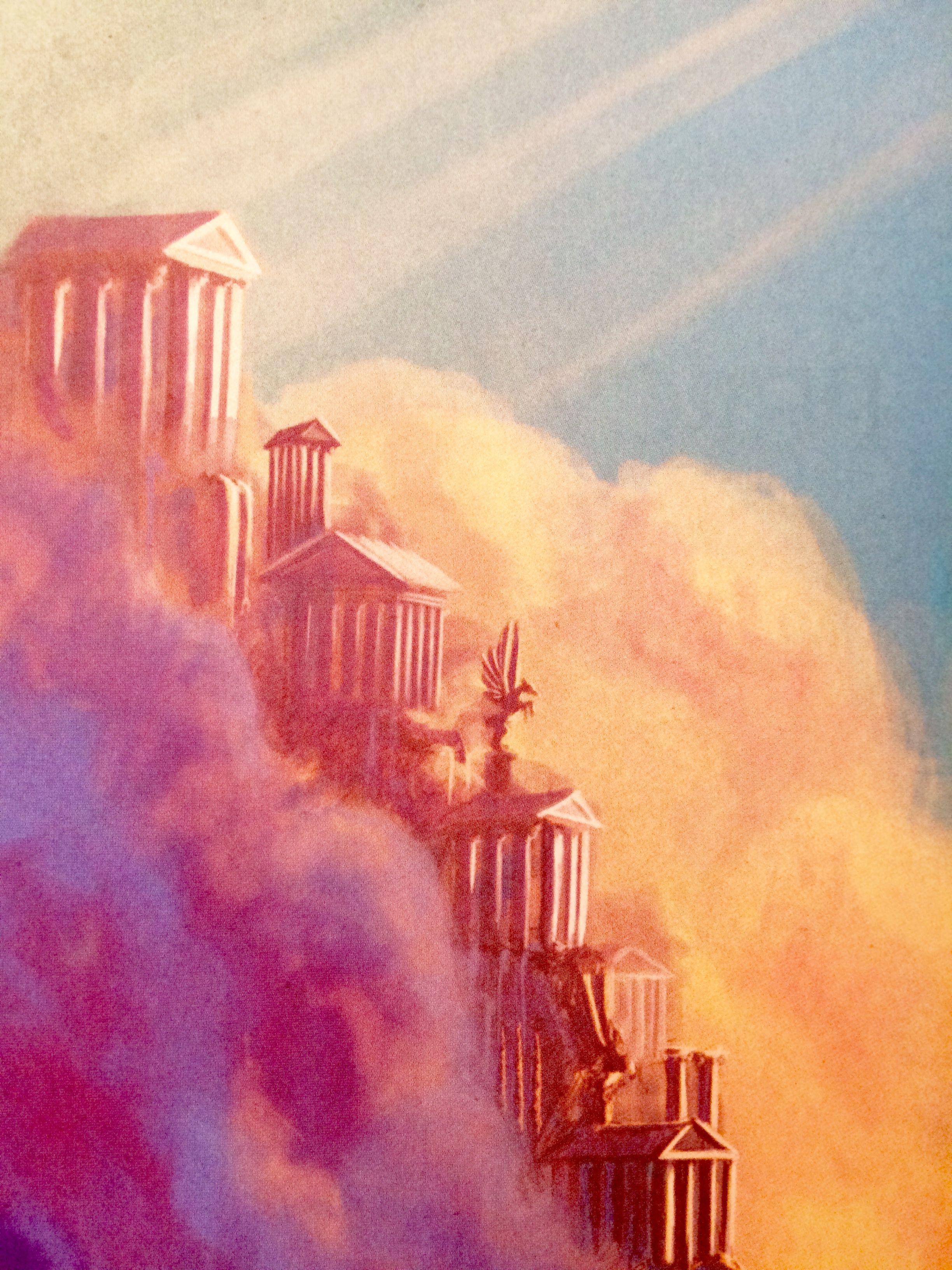 Ancient Greek Mythology Background Olimpo | Litera...