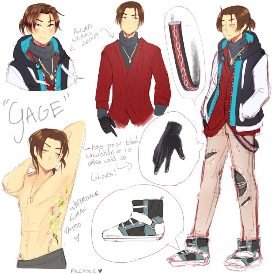 OC Gage Ref Sheet by Riccasze Oc Pinterest