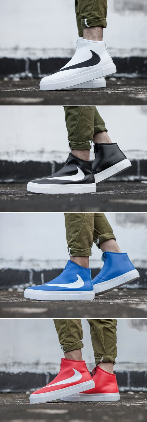 new style 2b12a 3b804 Nike Blazer HI Big Swoosh Unisex Free Shipping | Nike blazer ...