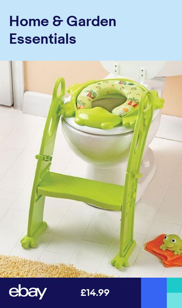 Karibu Award Winning Potty Training Step Ladder Toilet Seat Green