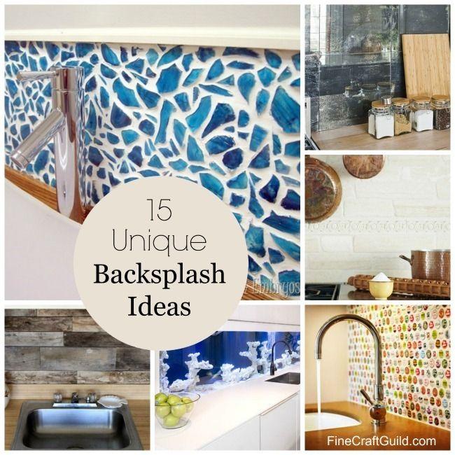 15 Unique Kitchen Backsplash Ideas Backsplash ideas, Kitchen