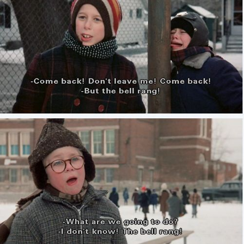 remember when life was controlled by bells a christmas story gotta obey that bell - What Year Did A Christmas Story Come Out