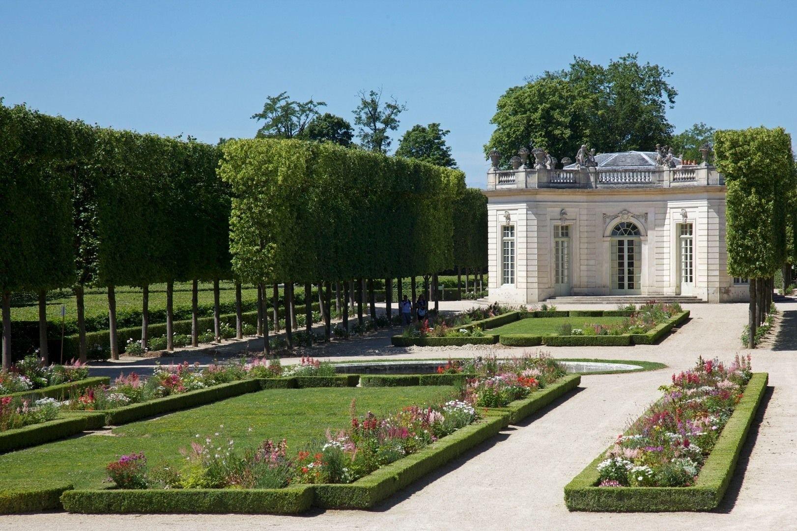 Versailles Garten Image Detail For Petit Trianon By Jean Marie Hullot In Palace Of