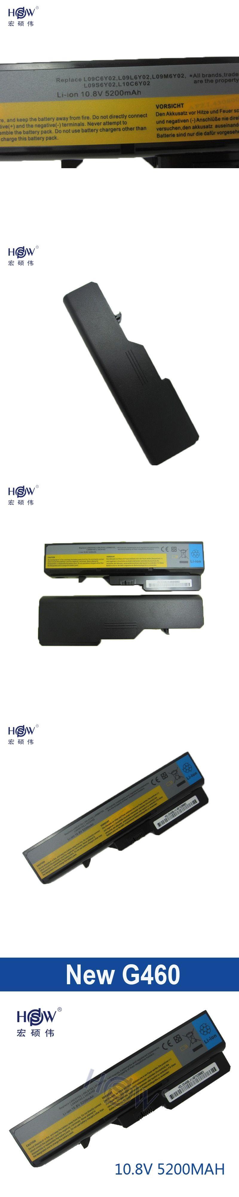 5200mah New 6cells Laptop Batteries For Lenovo G460 Battery G470 Batre Leptop Ideapad Z470 Z460 G560 V360 Z560 V560