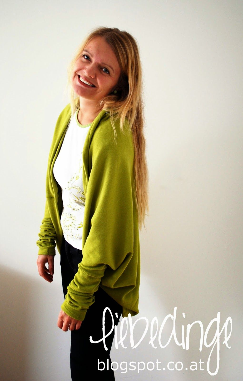 DIY cocoon cardigan ~ liebedinge | Fashion D.I.Y. | Pinterest ...
