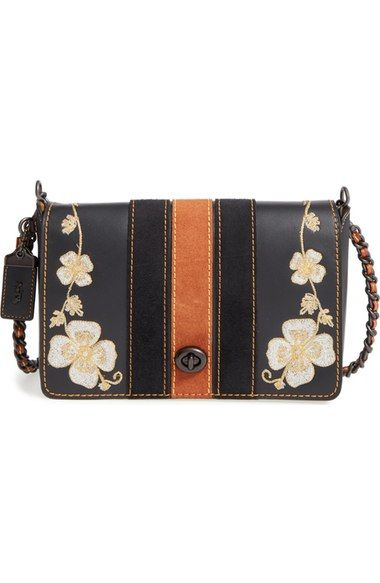 COACH 1941  Dinky 24  Patchwork Leather Crossbody Bag available at   Nordstrom a047337f4868b