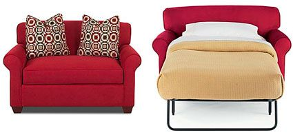 On The Small Side Sleeper Loveseat From Jc Penney The