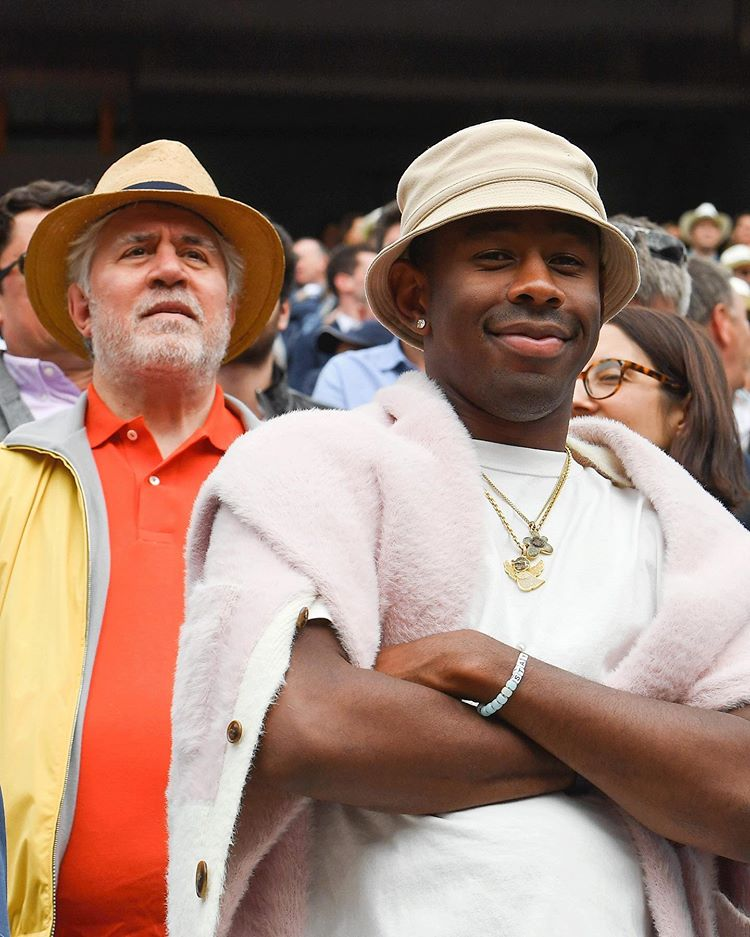 Tyler The Creator Of Massive French Open Fits Lol Yea I Know Twitching Tyler The Creator Wallpaper Tyler The Creator The Creator