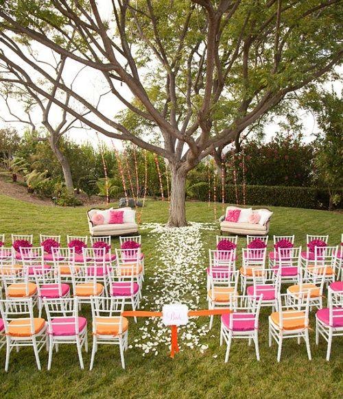 Superieur Decorating Ideas For A Summer Backyard Wedding