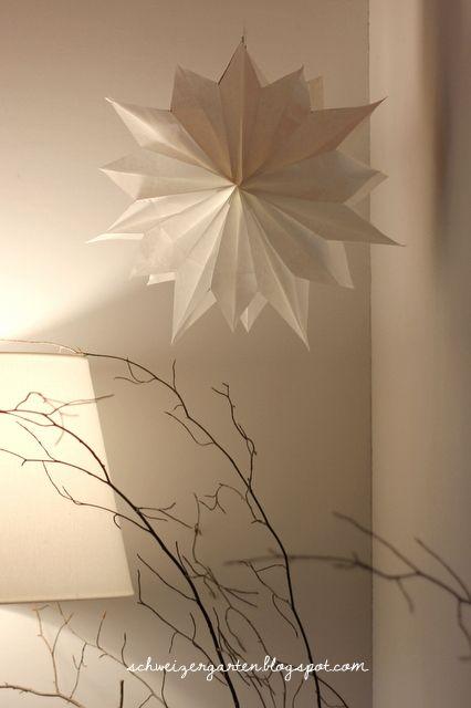 Papierstern Aus Brotpapiertüten Advent Weihnachten Papier Und